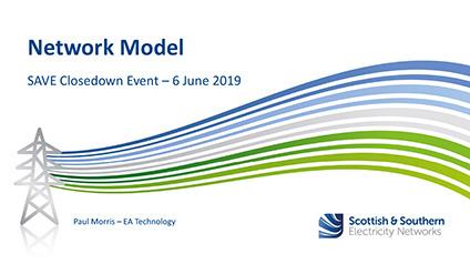 SAVE Closedown Session 1E – Network Model