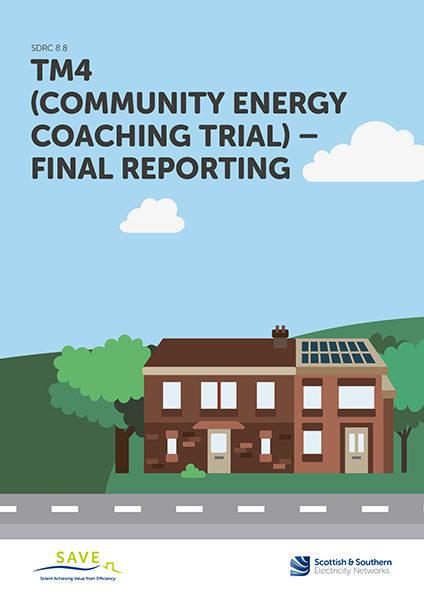 SDRC 8.8 Community coaching trial report